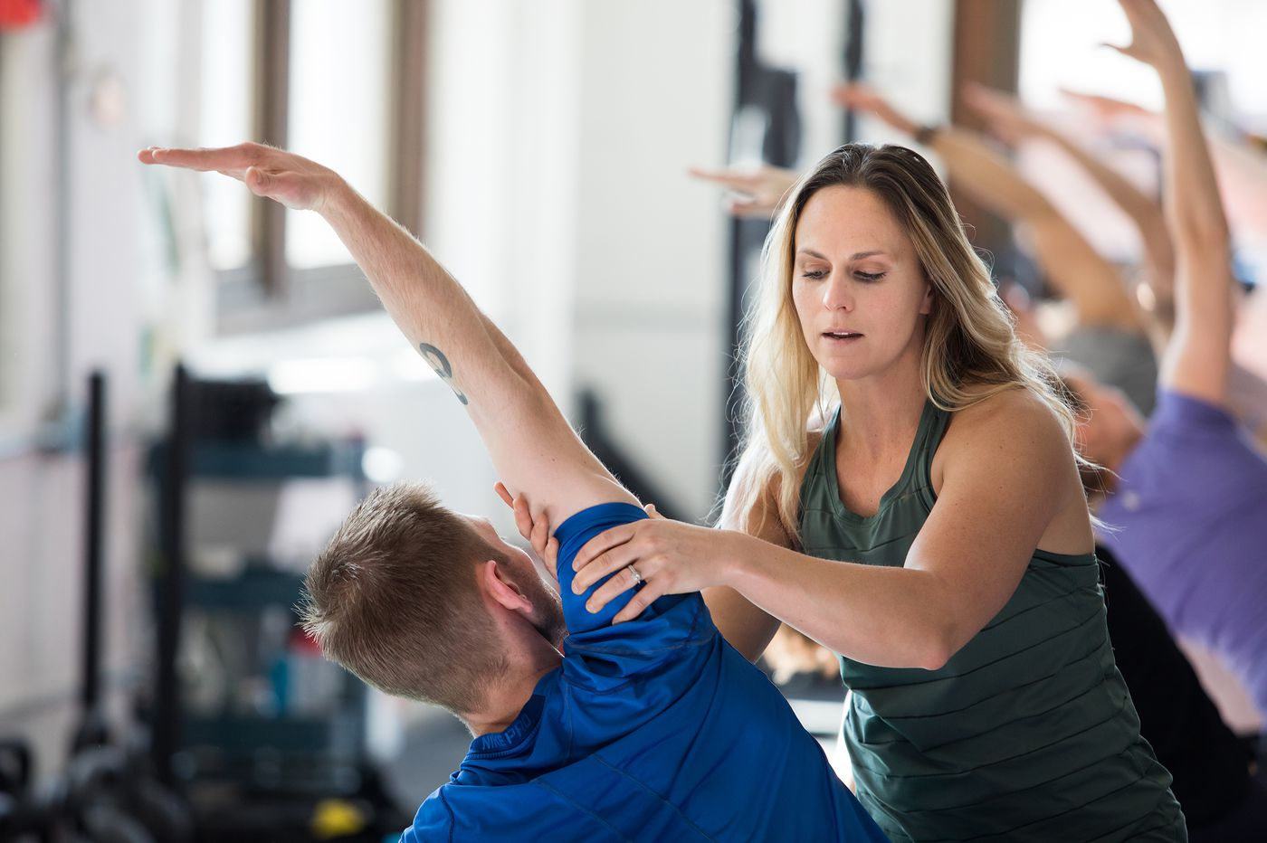 With mimosas, pastries, and community-building, this Philly yogi's classes go way beyond stretching