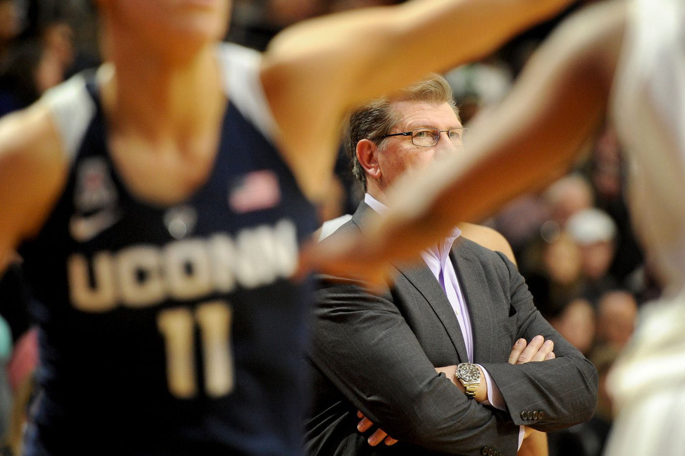 UConn women in a class unto themselves