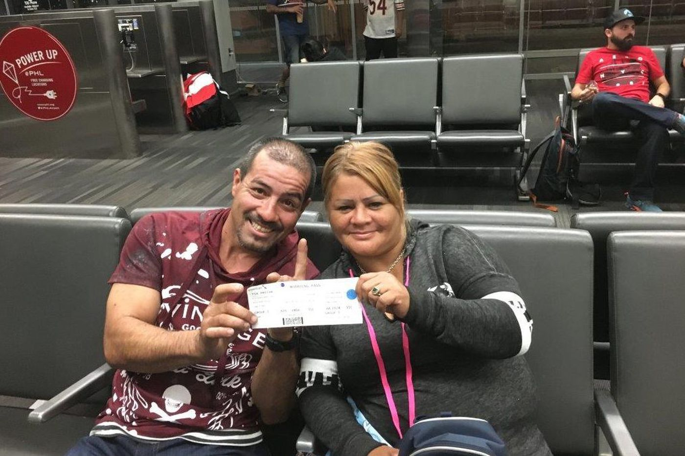 At PHL, Puerto Rico-bound passengers pack medicines, fears
