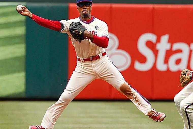 Phillies shortstop Jimmy Rollins. (Ron Cortes/Staff Photographer)
