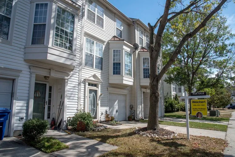 A house for sale in Delran. The town is  among the municipalities that have not yet settled their affordable-housing requirements.