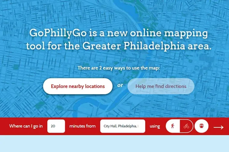 Like a more nuanced Google Maps, GoPhillyGo.org will help you plan a route that combines walking, biking and public transportation.
