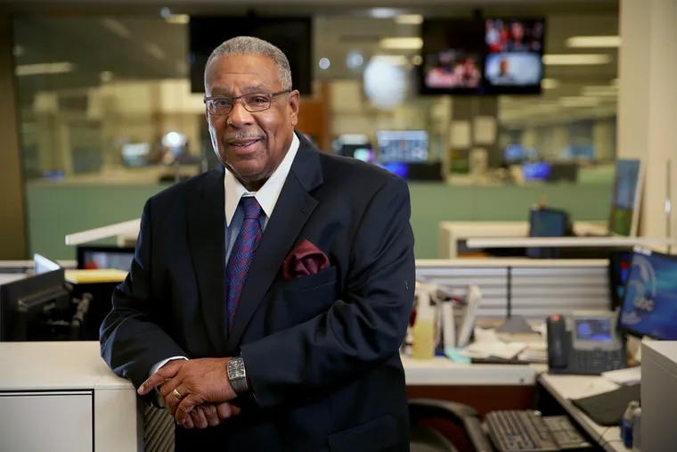 Vernon Odom on his last day at 6ABC.