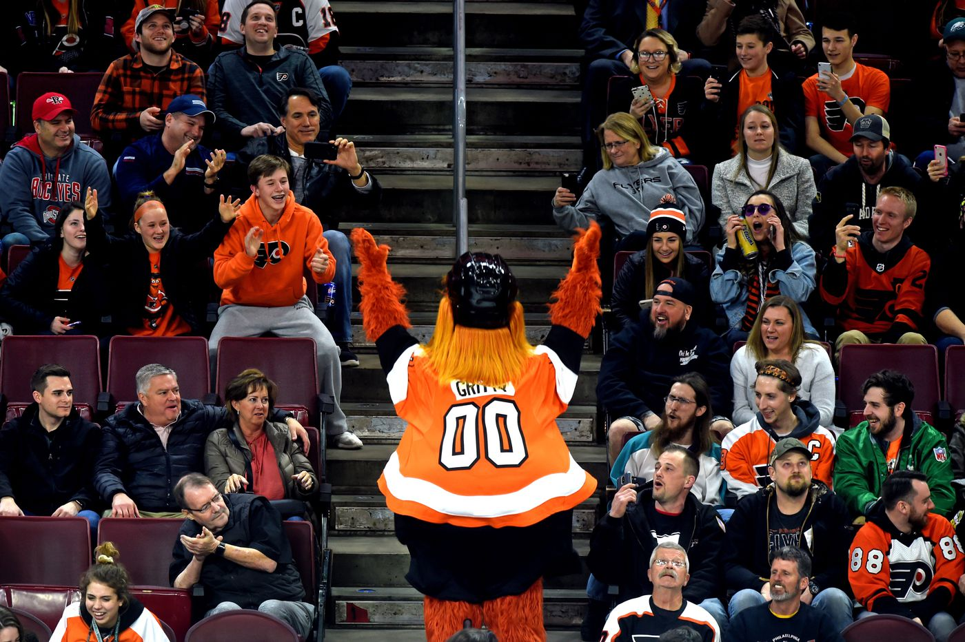 The Flyers are granting fans' wishes, and fans are not disappointing with their requests