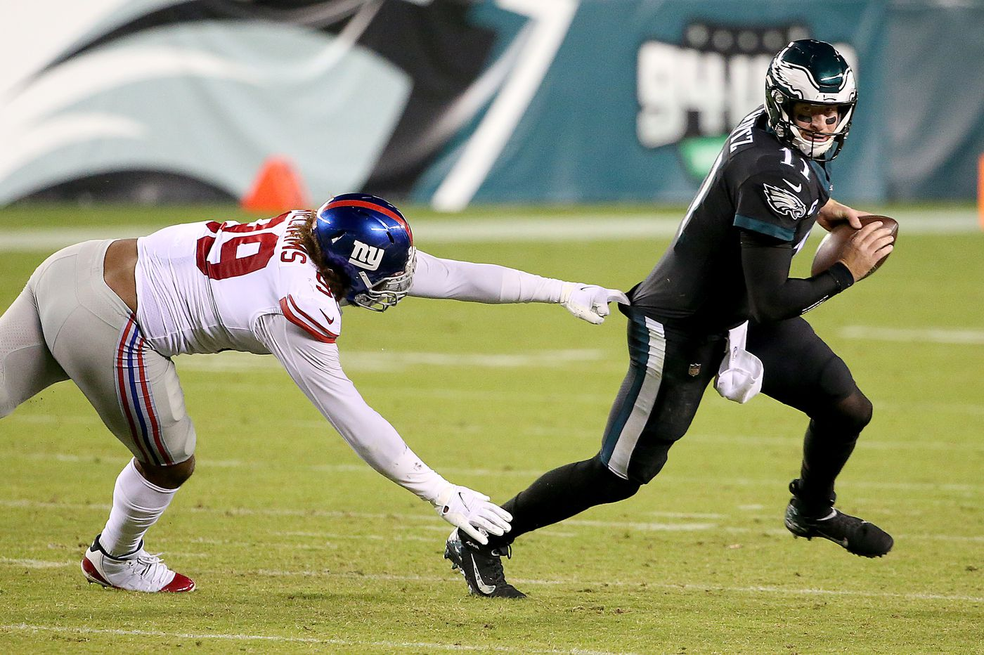 Carson Wentz nearly costs the Eagles another loss, this time to the woeful Giants | Marcus Hayes