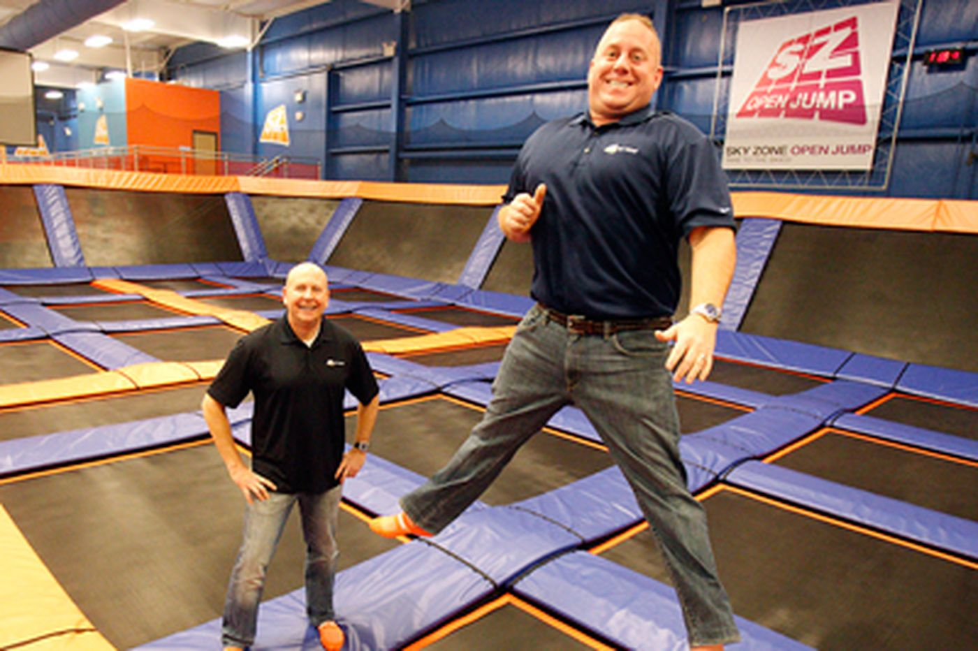 Duo has high hopes for trampoline franchise