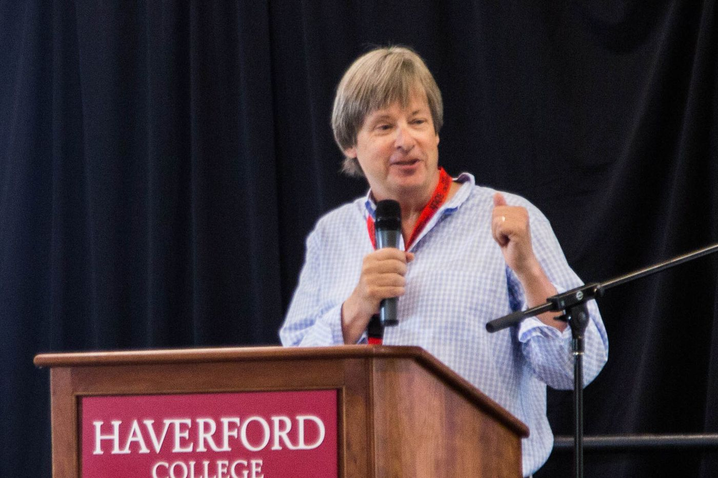 barry dave reunion 50th haverford college columnist laugh humor funnyman prepare hear say had delights fellow alumni weekend last