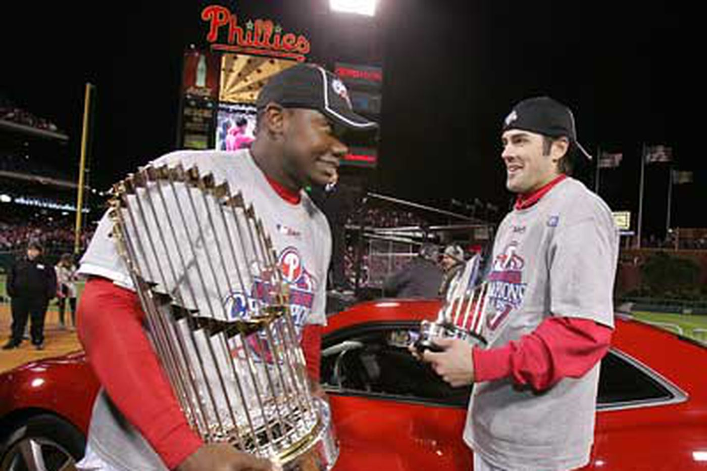 World Series MVP Cole Hamels puts the 'Most' in valuable