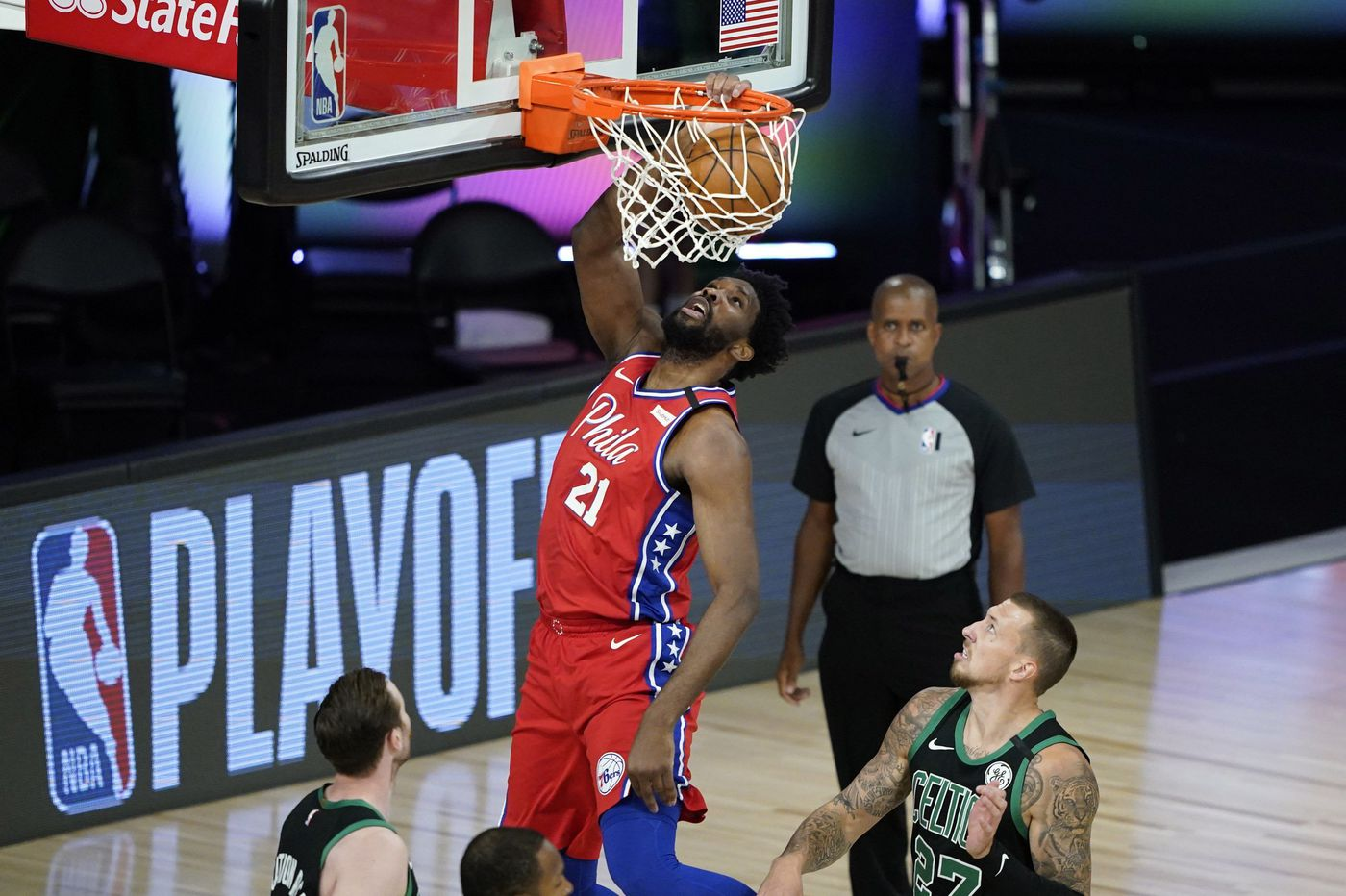 Sixers coach Brett Brown clearly sees the need to feed Joel Embiid against Boston Celtics