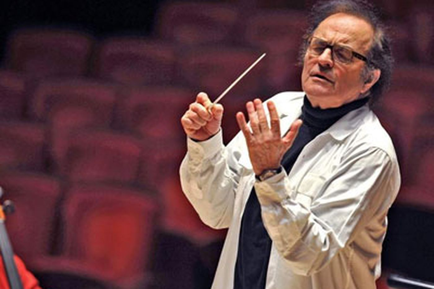 Dutoit departs, after playing key role in Philadelphia Orchestra's survival