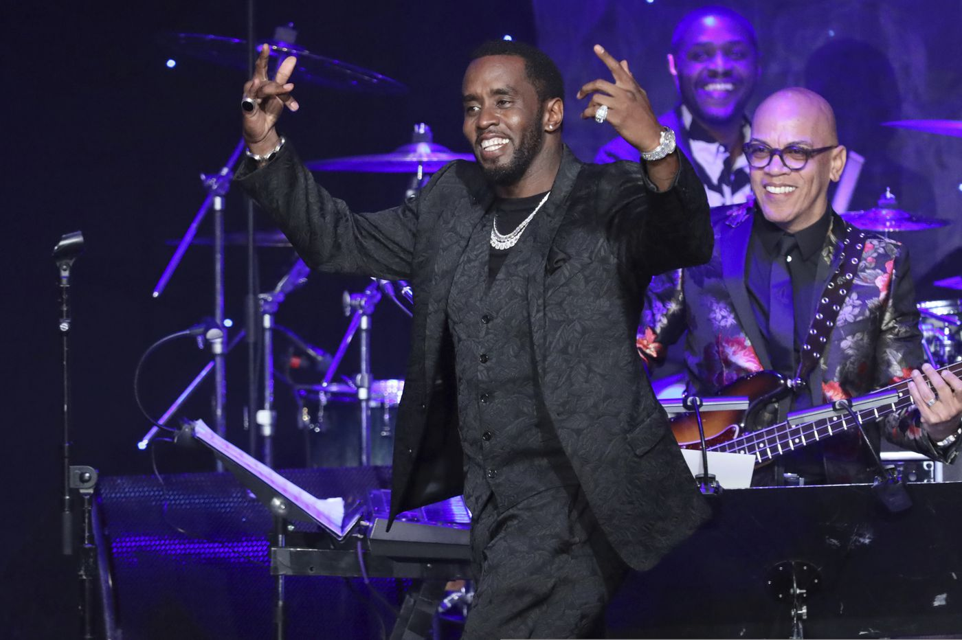 Diddy calls out Grammys in fiery speech at Clive Davis gala