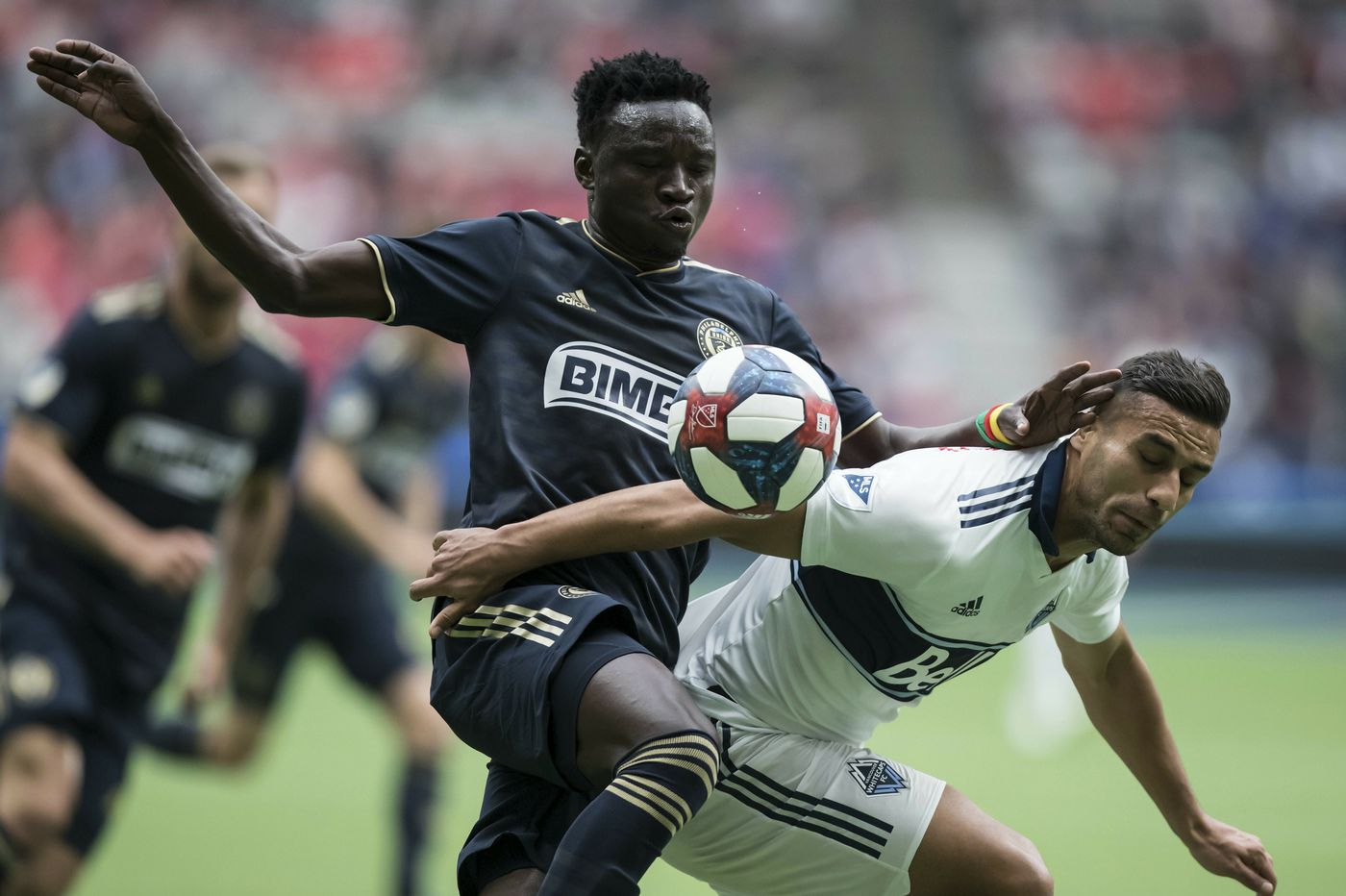 Union's Olivier Mbaizo faces big year to prove he should play more at right back