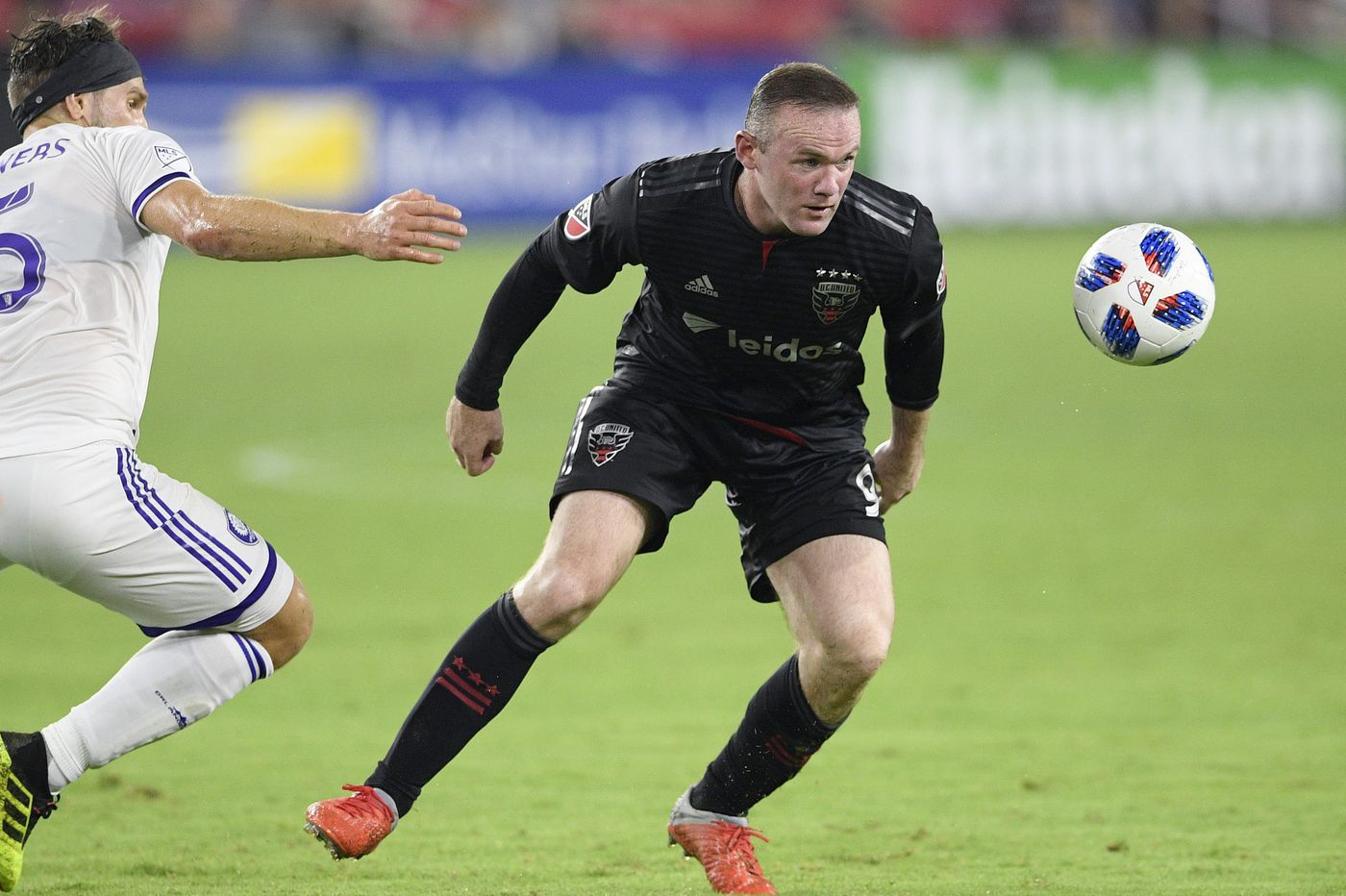 Union set to face Wayne Rooney, who has silenced the doubters after his move to D.C. United