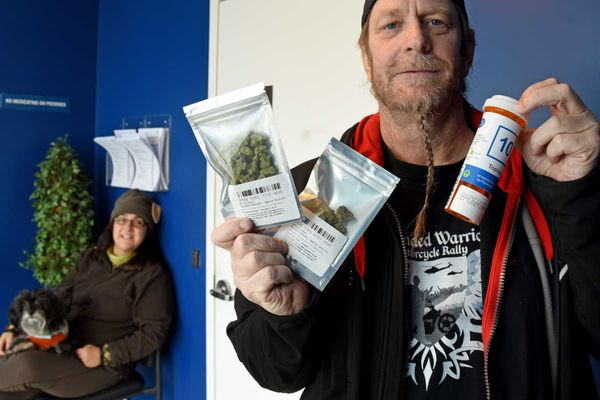 Vet with PTSD who protested in Trenton, Philly buys first ounce of legal weed