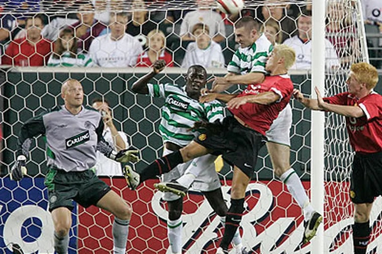 Celtic last visited Philadelphia in 2004, when they played Manchester United. (Ron Cortes/Staff file photo)