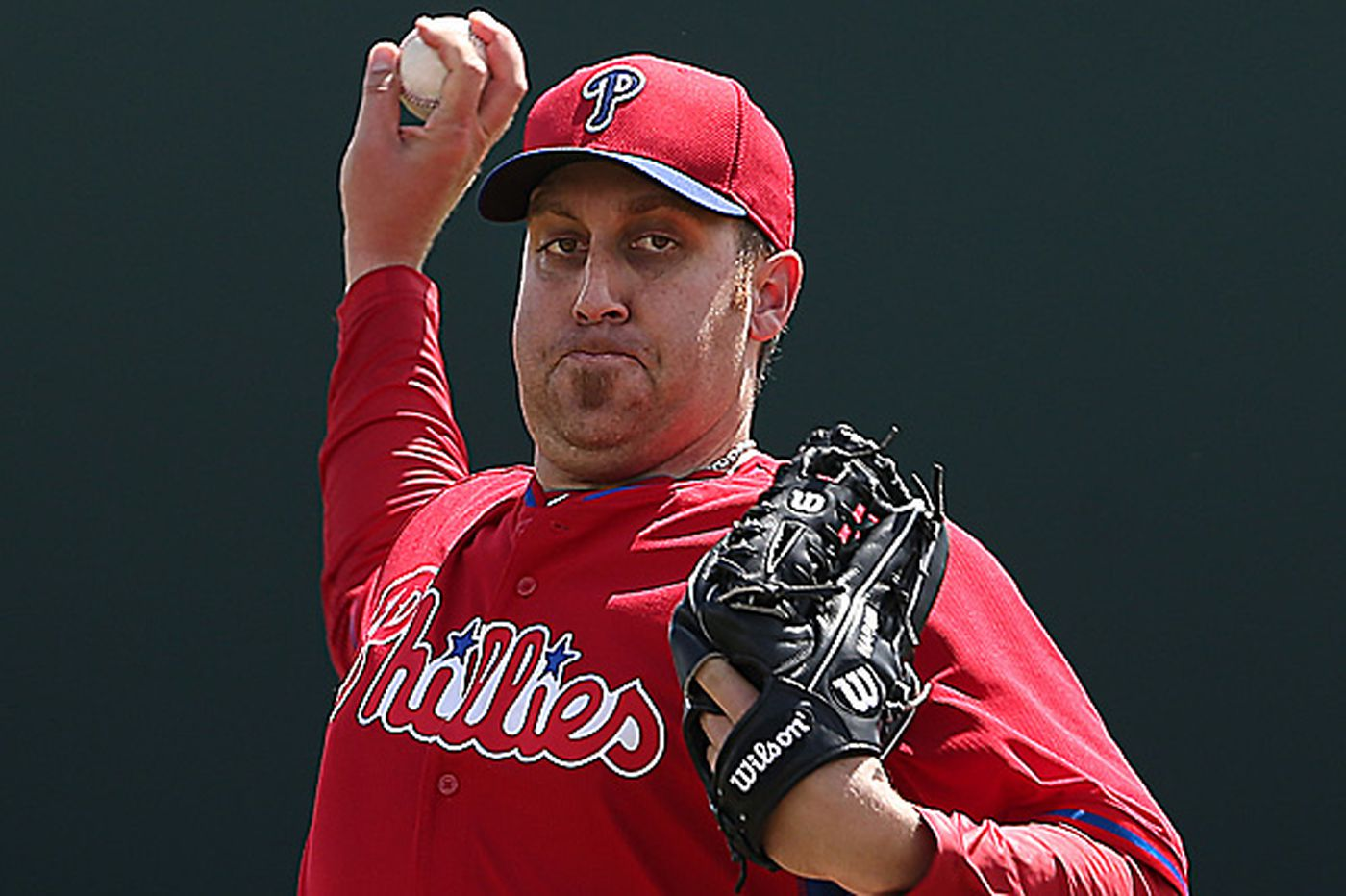 Phillies Notes: Harang scratched from start with back ailment