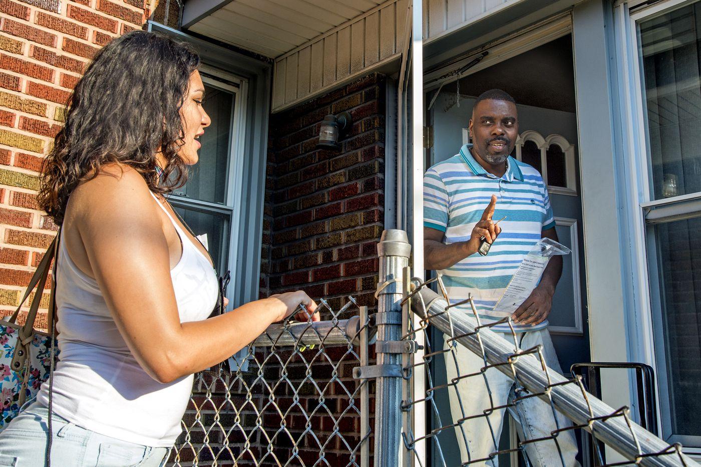 Looking for some relief? City goes door to door touting tax assistance programs