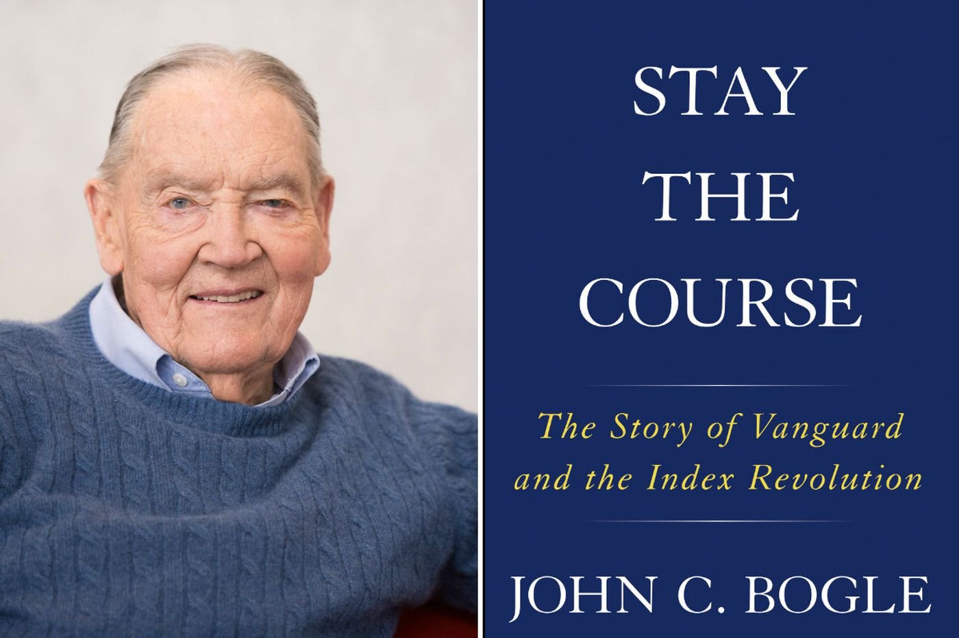 'Stay the Course': John Bogle rates his Vanguard CEO successors