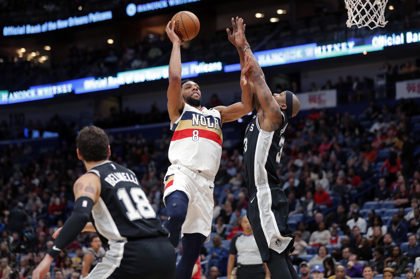 Former Sixers center Jahlil Okafor finds niche with New Orleans Pelicans