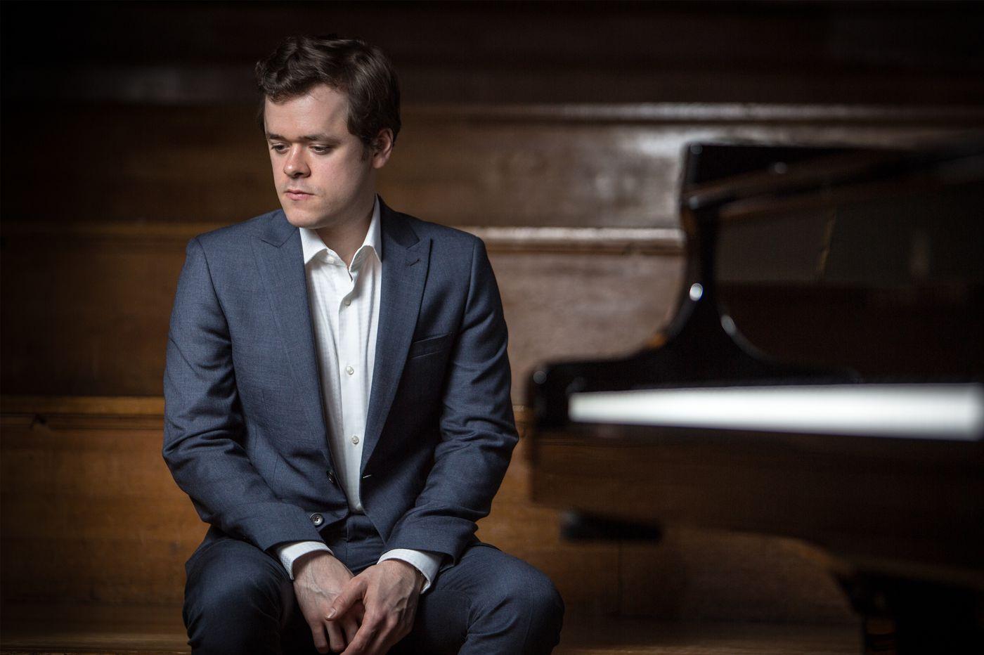 With Philadelphia Orchestra, pianist Benjamin Grosvenor returns in program led by Nathalie Stutzmann