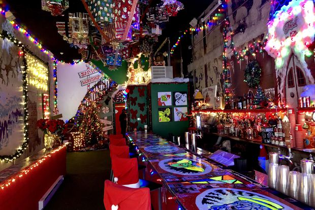 Tinsel, the Christmas-theme bar, returns in Center City