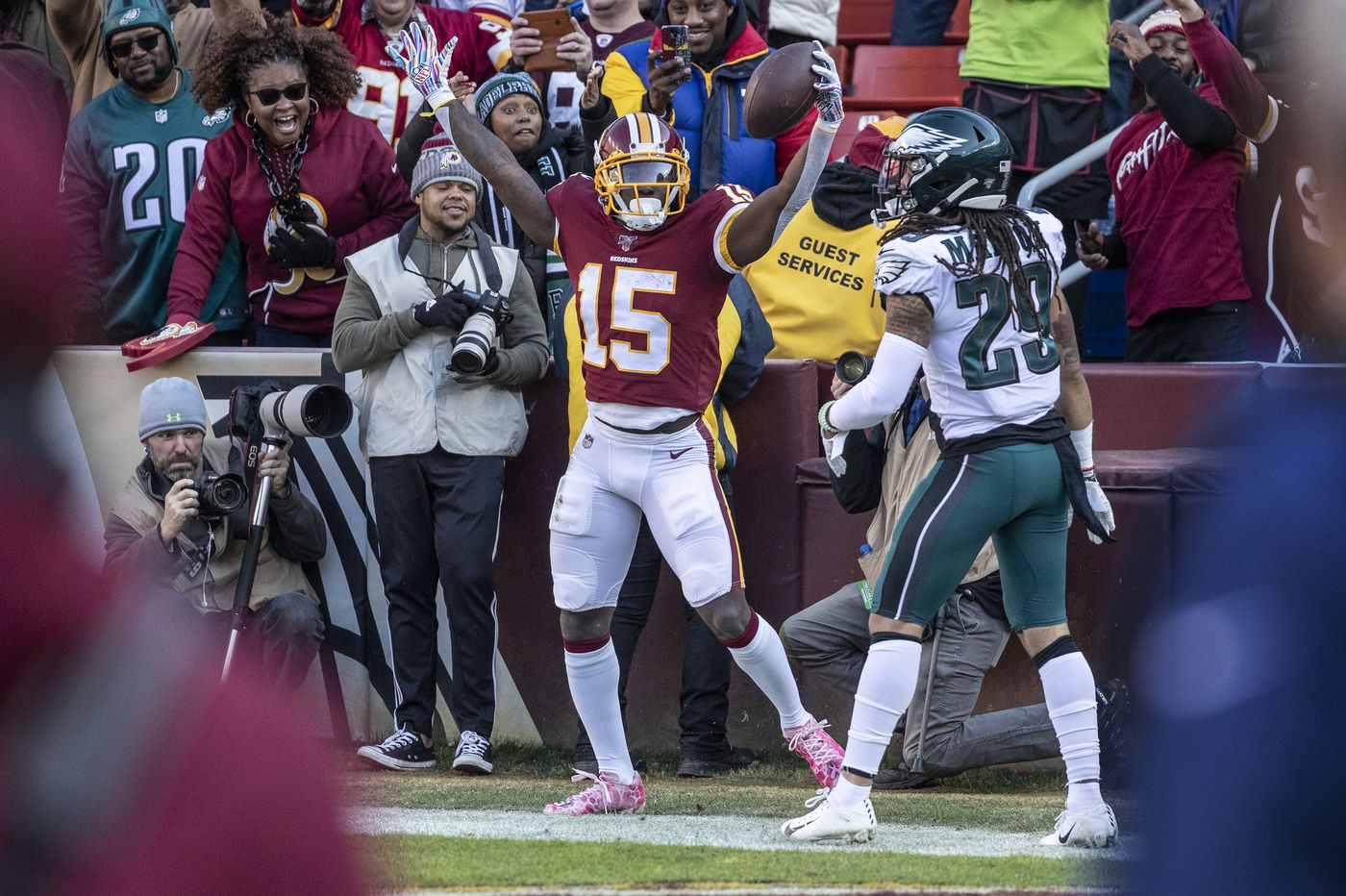 Avonte Maddox, Eagles defense get the job done against Redskins ... barely | Mike Sielski