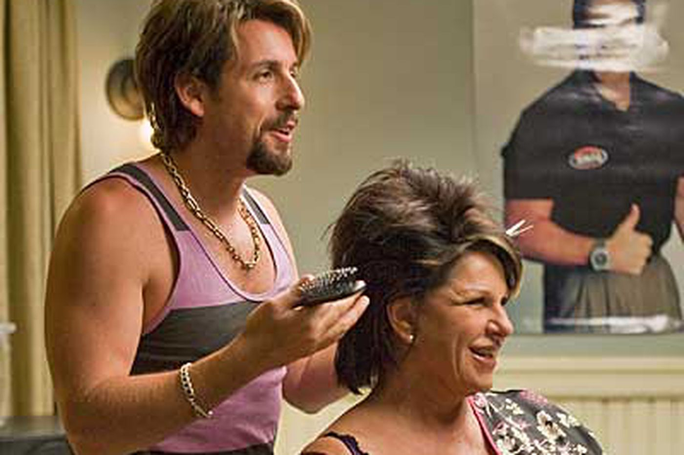 'Zohan's' silly, separate peace