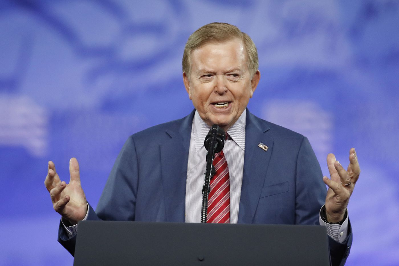 Fox host Lou Dobbs latest Trump ally to peddle baseless conspiracy theory about pipe bombs