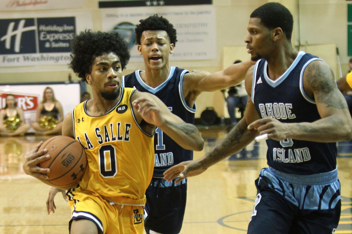 La Salle holds off Fordham