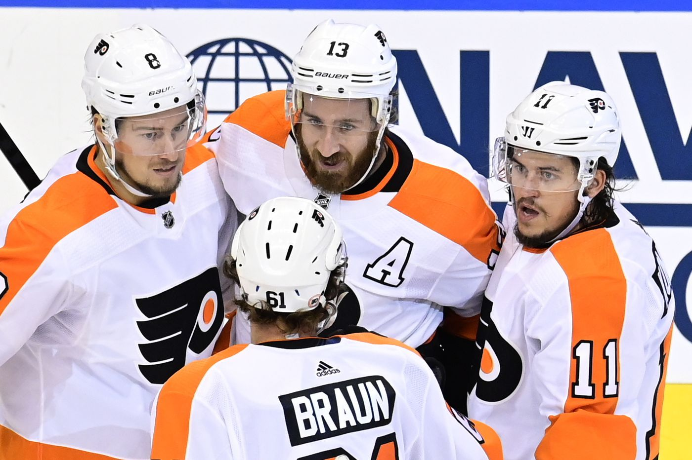 NHL lays out tentative plans for start of season, and the Flyers' new division is likely to have nearby opponents