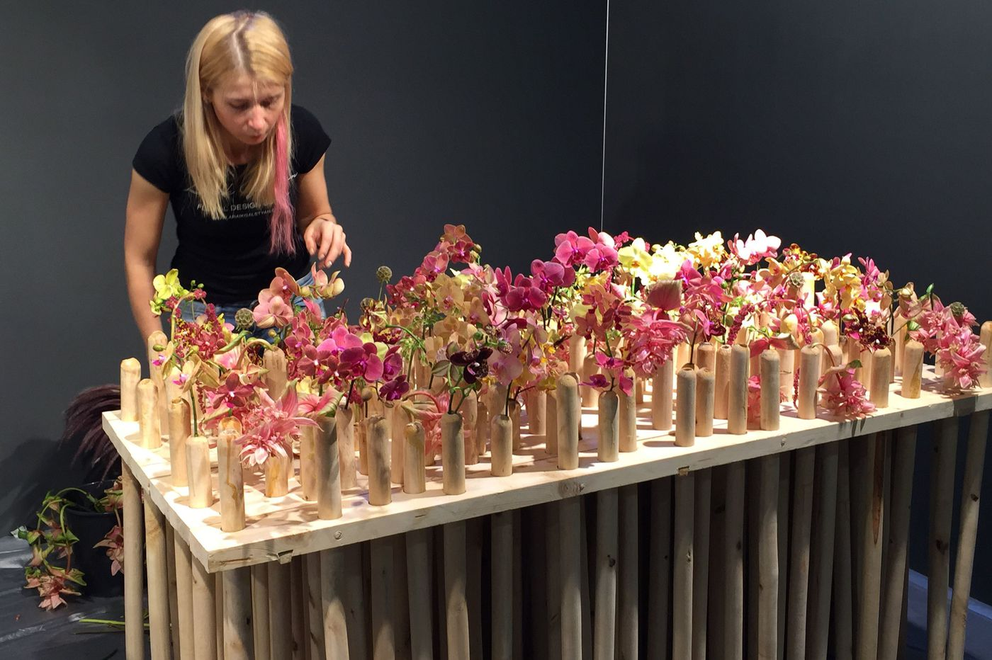 Want a 'Great British Bake Off' for florists? The Flower Show has it.