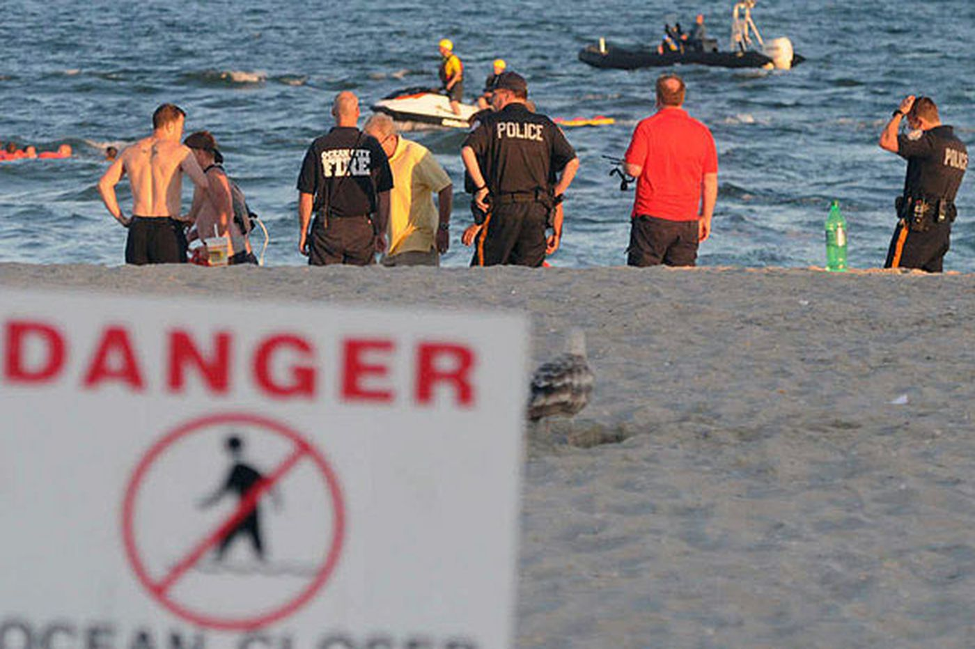 Search on for boy missing off Ocean City