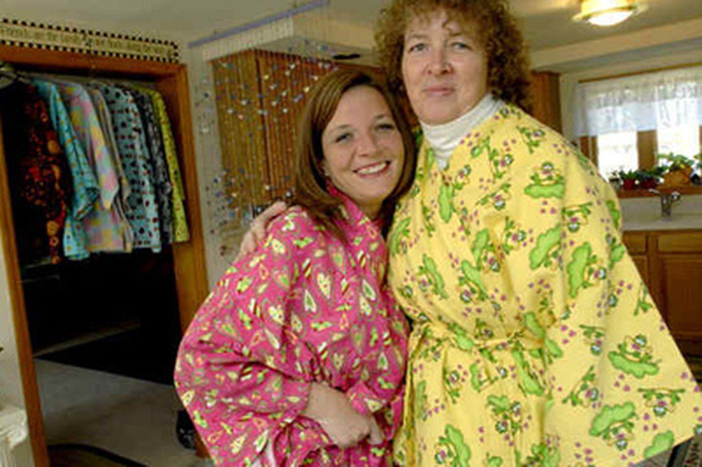 Daniel Rubin: A S.J. woman's therapeutic war on hospital gowns