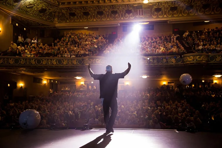 An evening with Jon Dorenbos at the State Theatre Easton, PA on September 21, 2018. Photo by DAVE DABOUR