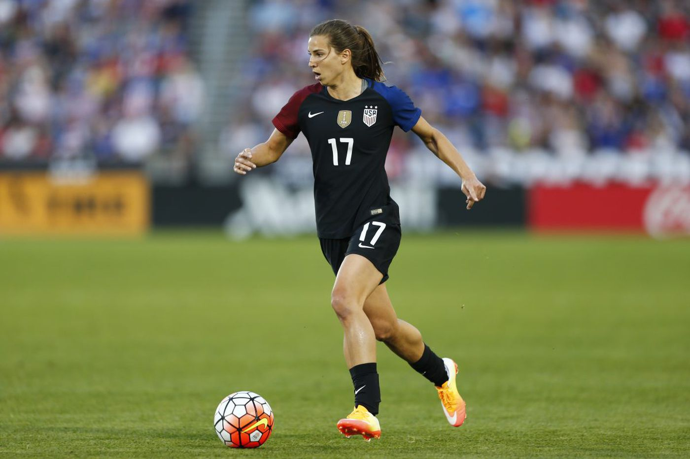 Tobin Heath, Christen Press, Julie Ertz return to U S