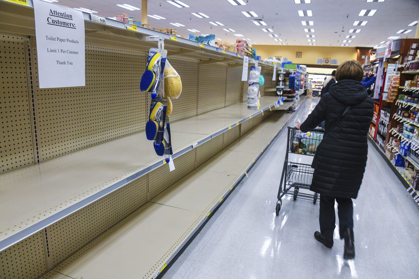 All at once, a steady U.S. economy screeches to halt amid coronavirus pandemic