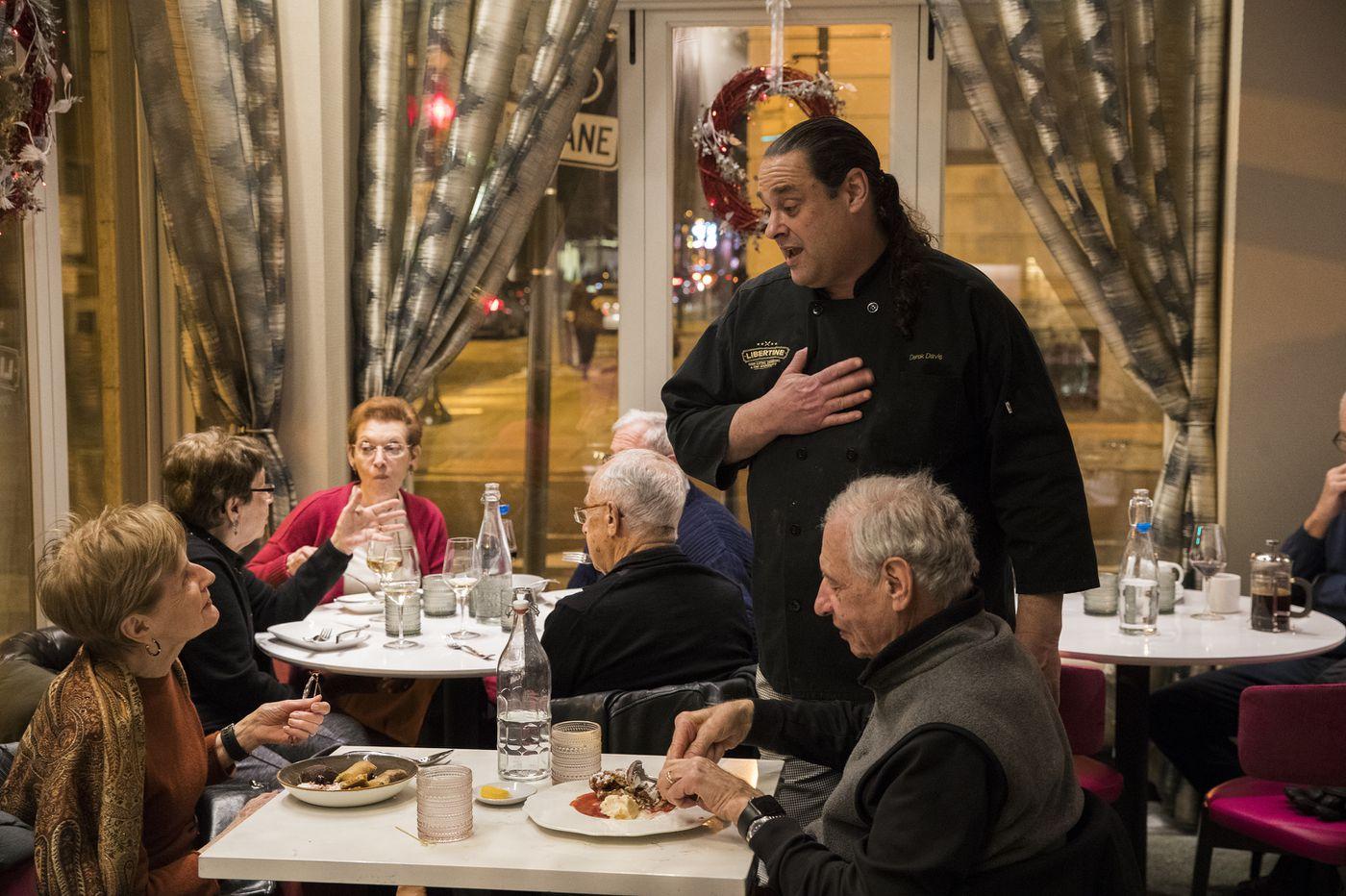 Libertine is chef Derek Davis' comeback, and a breath of new life for Center City corner