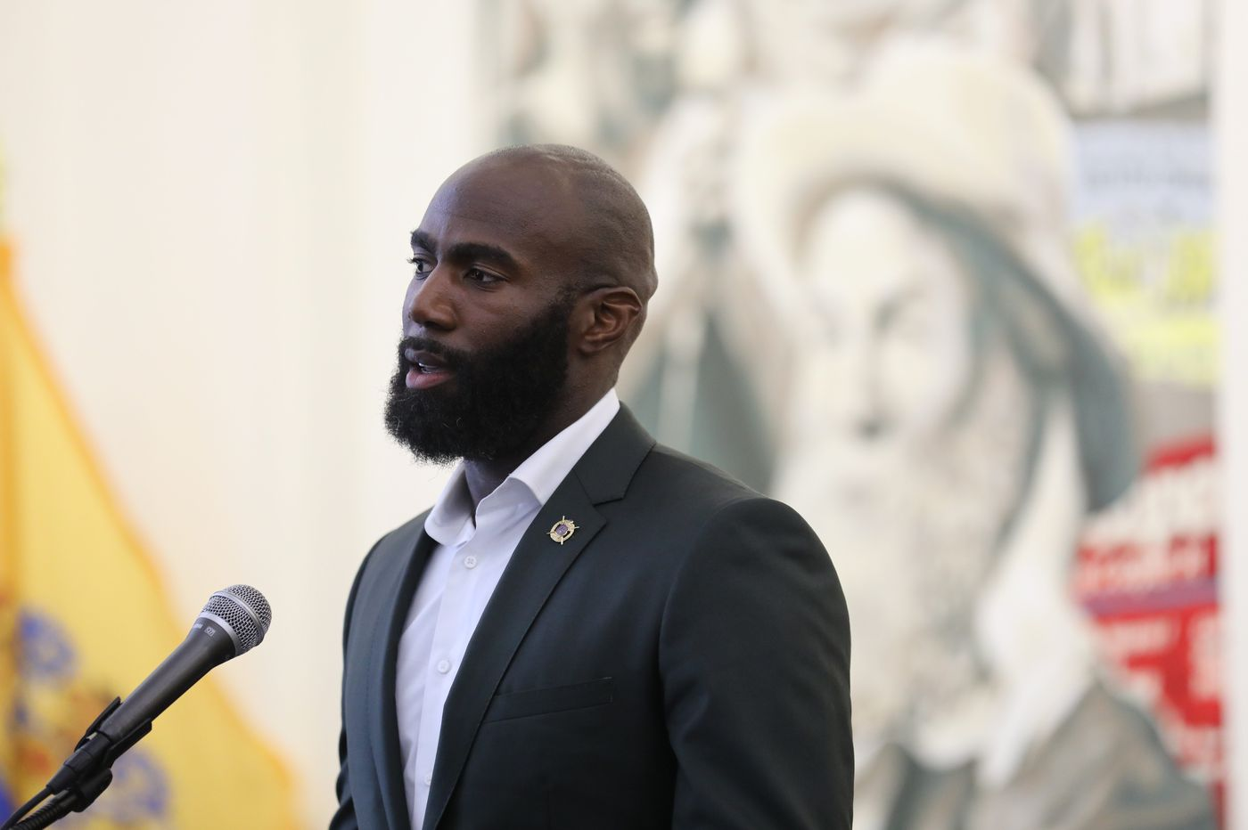 Eagles safety Malcolm Jenkins receives key to city of Camden