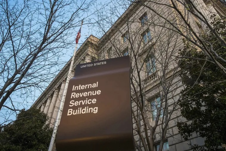 Internal Revenue Service headquarters in Washington. inates the deduction for state and local taxes. (AP Photo/J. David Ake, File)