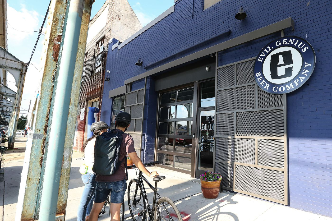 Evil Genius Beer Co. opens beer garden for the summer season, pays tribute to the Sixers' playoff run