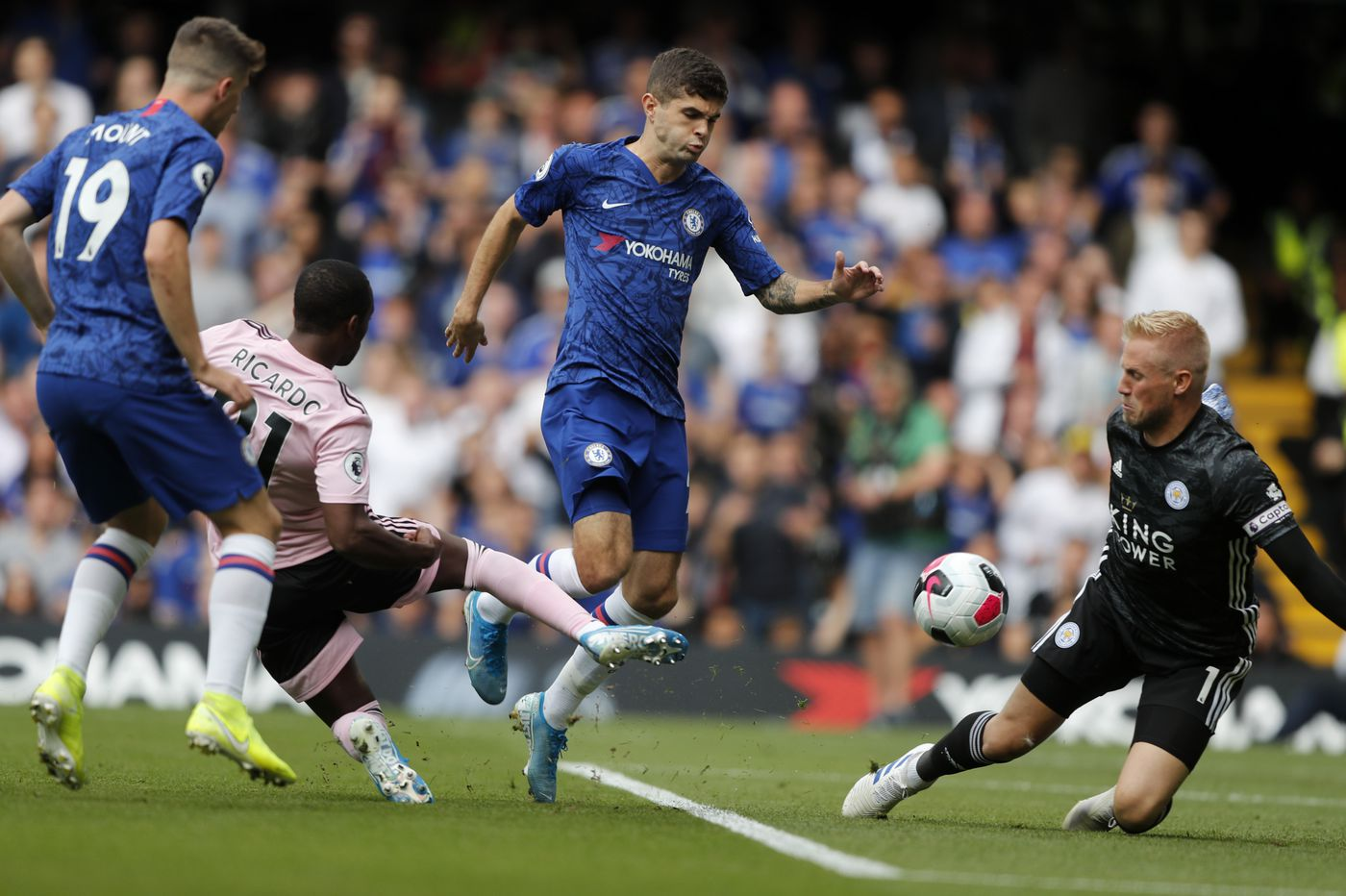 Christian Pulisic confident in form despite Chelsea benching
