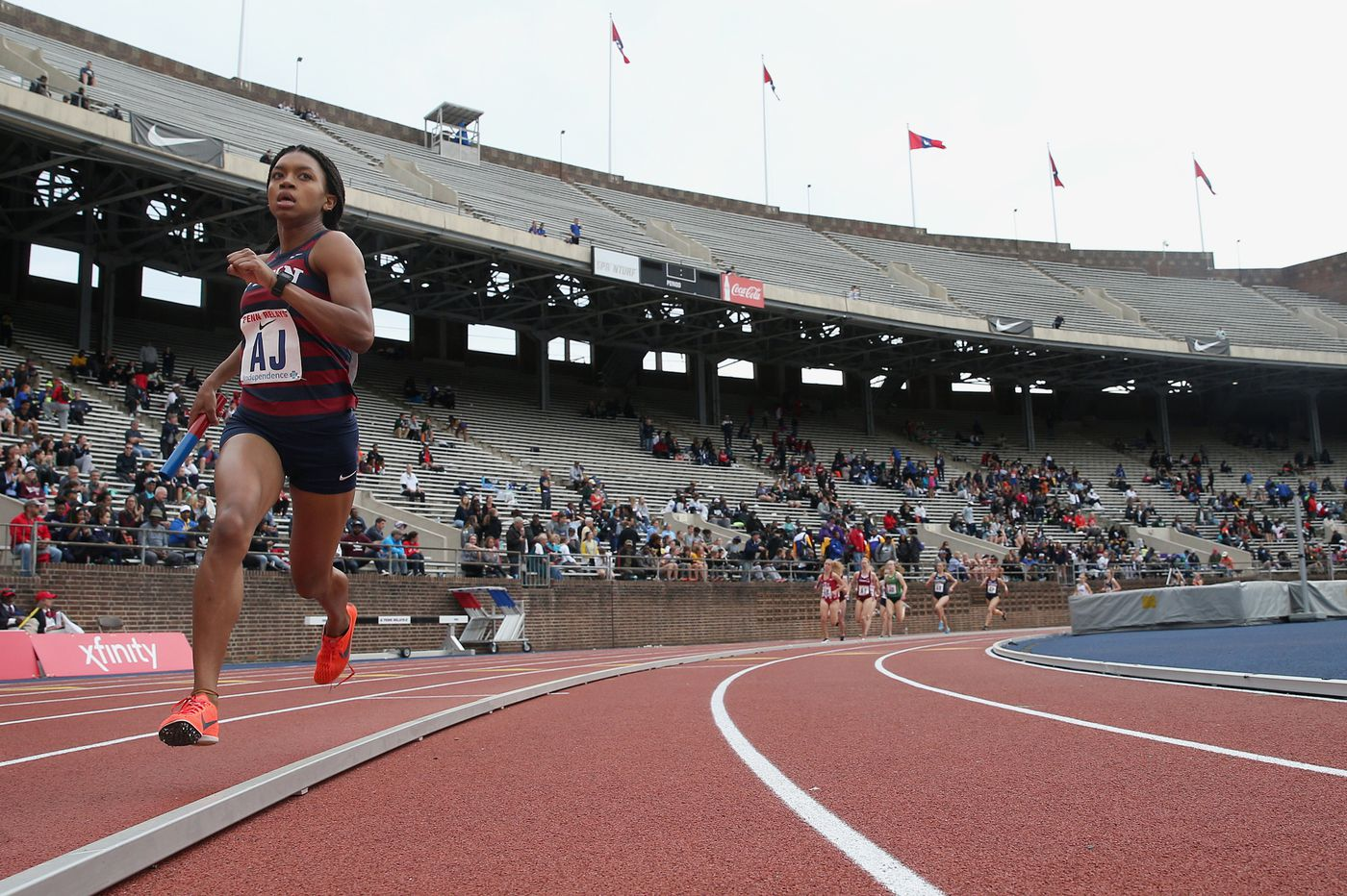Penn track star and Olympic hopeful Nia Akins tones down her rigorous schedule