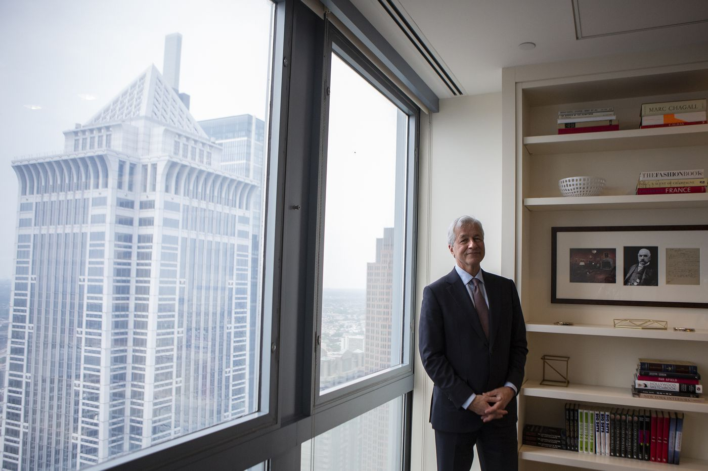 JPMorgan's Dimon on Comcast, Wall Street, and wooing Philly customers