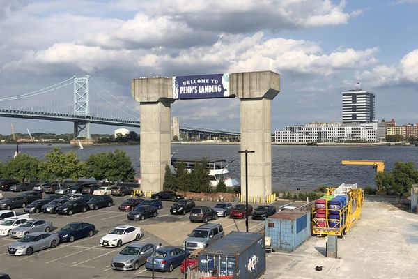 Demolition looms for hulking Penn's Landing artifact of ill-fated sky tram to Camden