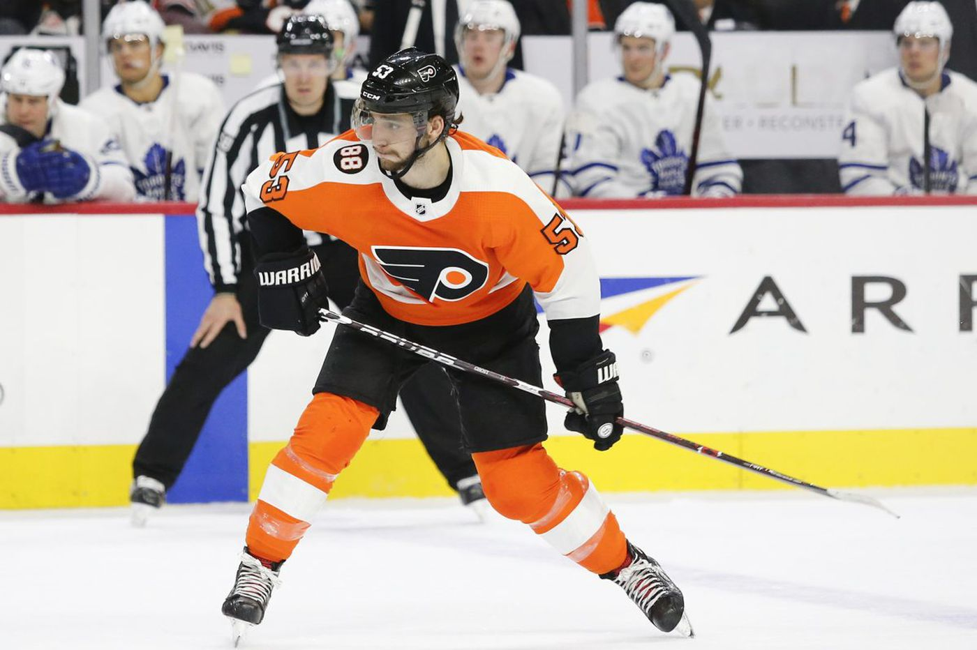 Flyers' Shayne Gostisbehere 'extremely saddened' by shootings at his former high school