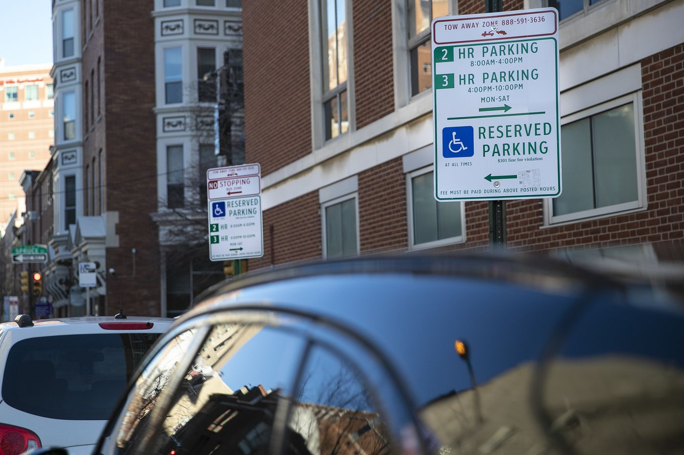 The Philadelphia Parking Authority has relocated spaces for disabled drivers across the city. Here's why.