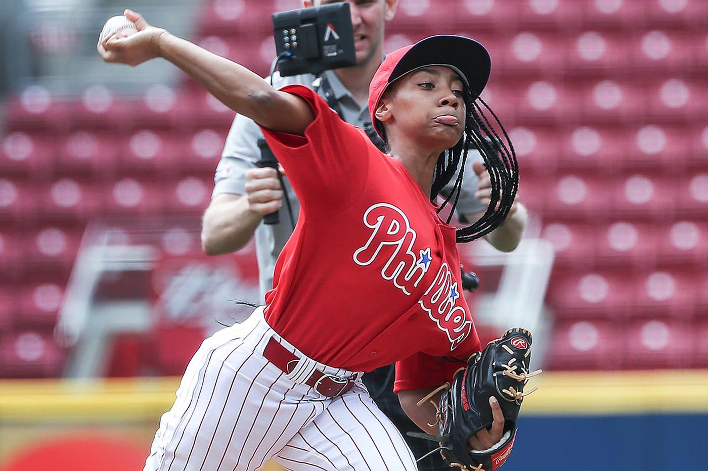The defiant girls who refuse to play softball instead of baseball, and why they rock