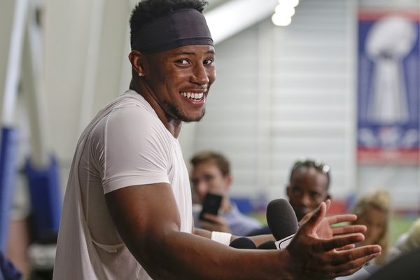 For Saquon Barkley, young fatherhood is the greatest motivation to keep elevating his game