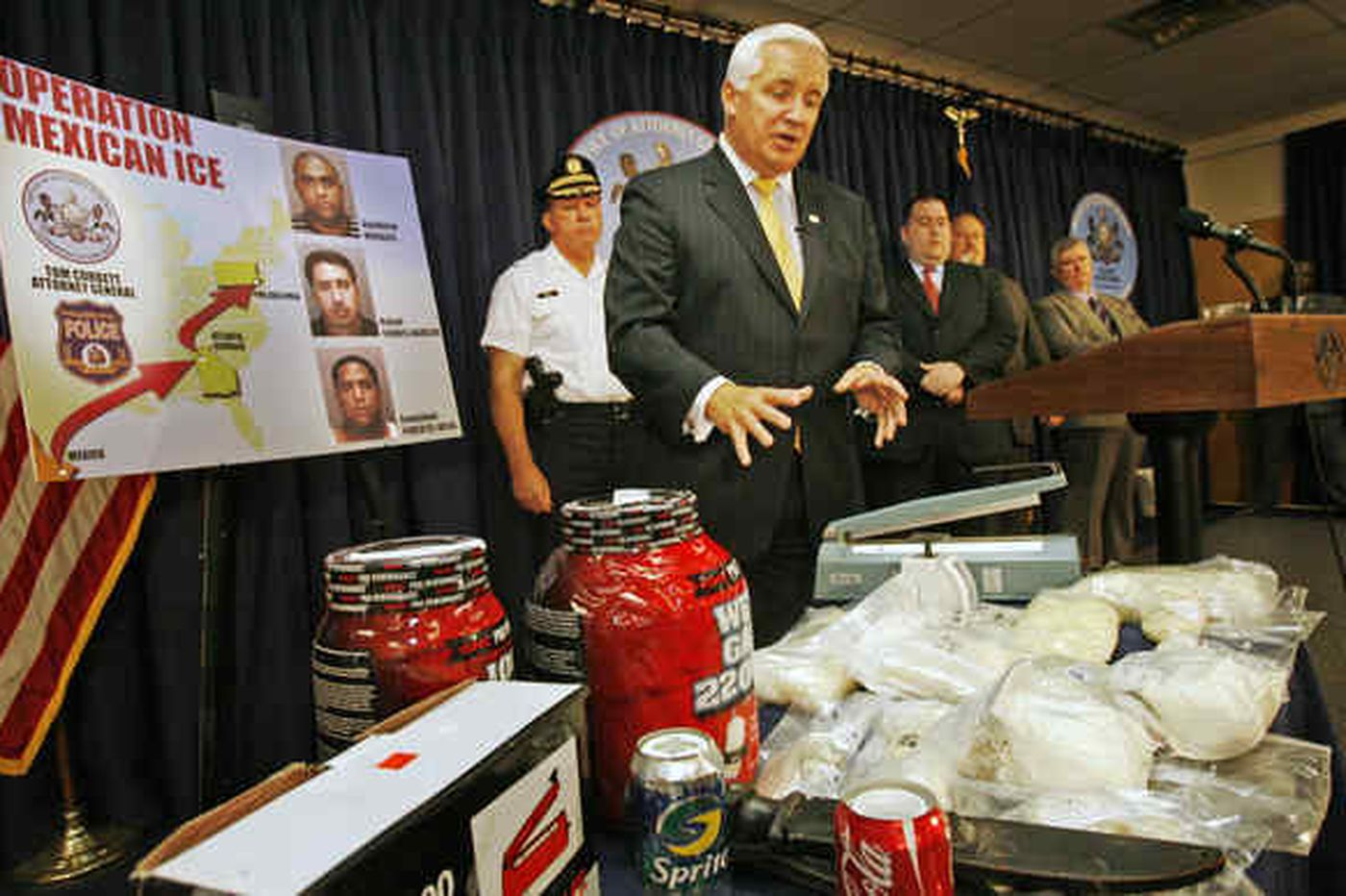 3 charged in multimillion-dollar meth ring