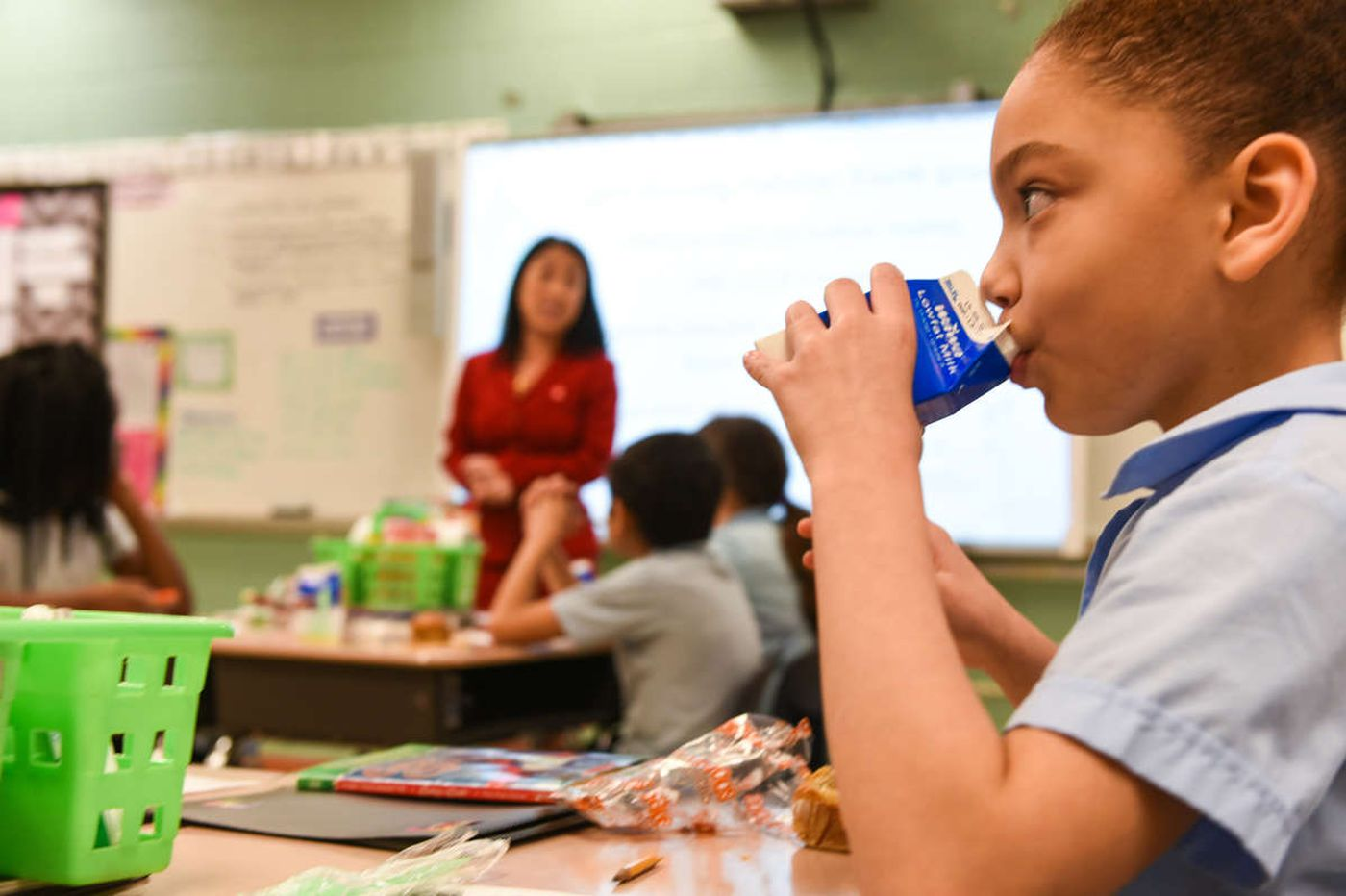 Free breakfasts mean better academics at one Philly school